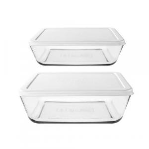 Frische Lebensmittel Box Set Küche Lagerung, 2 Stück