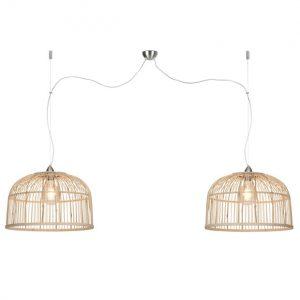 Hanglamp good & mojo, bamboe, eettafellamp