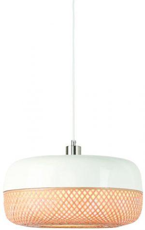 hanglamp mekong, metaal en bamboe