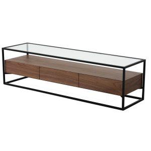 TV-meubel metaal hout 150 cm Baily