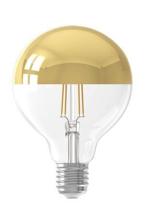 Globekopspiegellamp dimbaar LED filament 240V 4,0W Ø9.5cm Calex