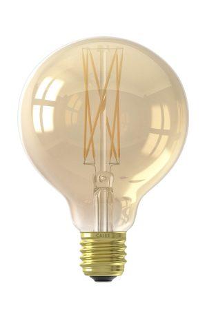 LED filament globelamp 220-240V 4,0W dimbaar Ø9.5 Calex