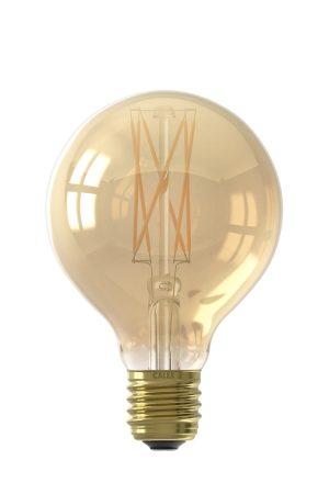 LED filament globelamp 220-240V 4,0W dimbaar Ø8cm Calex