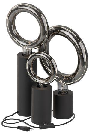 Tafellamp Rada 6 delige set Titanium Calex