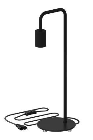 Tafellamp U-line armatuur E27 Zwart Calex