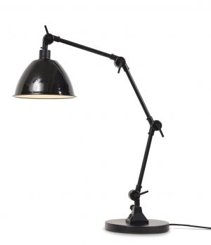 Tafellamp Amsterdam zwarte emaille kap
