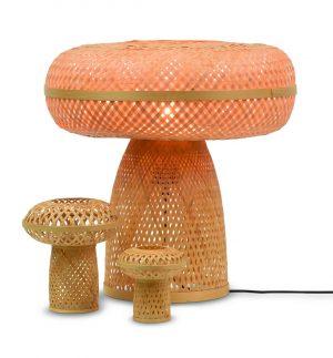 Tafellamp Palawan bamboe
