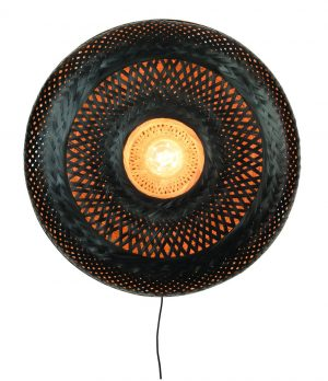 Wandlamp Palawan bamboe